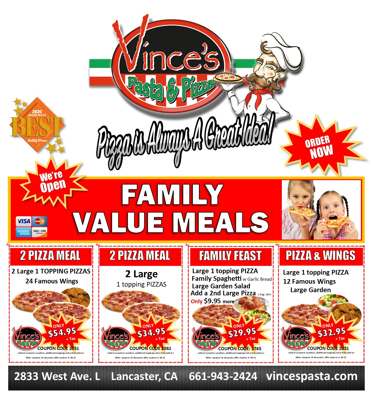 web deal family feast